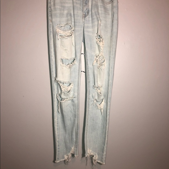 American Eagle Outfitters Denim - American Eagle High Waisted Tom Girl Jeans